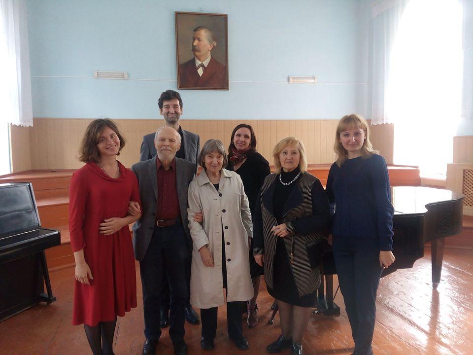 Мастер клас по клавірній творчості Й.С.Баха Бернгард Біллетер