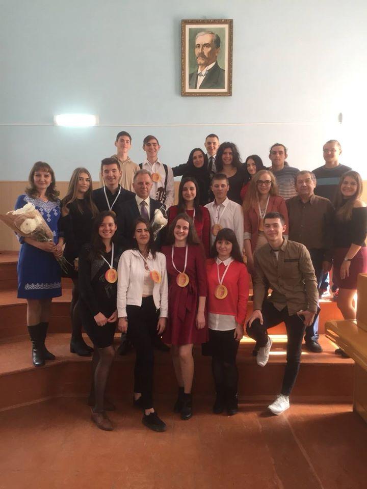 """У мистецькому корпусі К-ПНУ імені І. Огієнка відбувся святковий концерт, присвячений Міжнародному Дню музики, Дню працівників освіти, а також посвята студентів-першокурсників спеціальності """"Музичне мистецтво"""""""