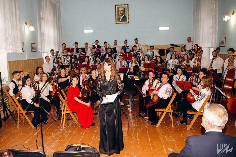 Новорічний концерт студентів