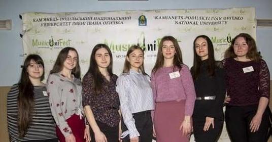 """Волонтери ІІ Всеукраїнського музичного конкурсу """"MusicUniFest-2019"""""""