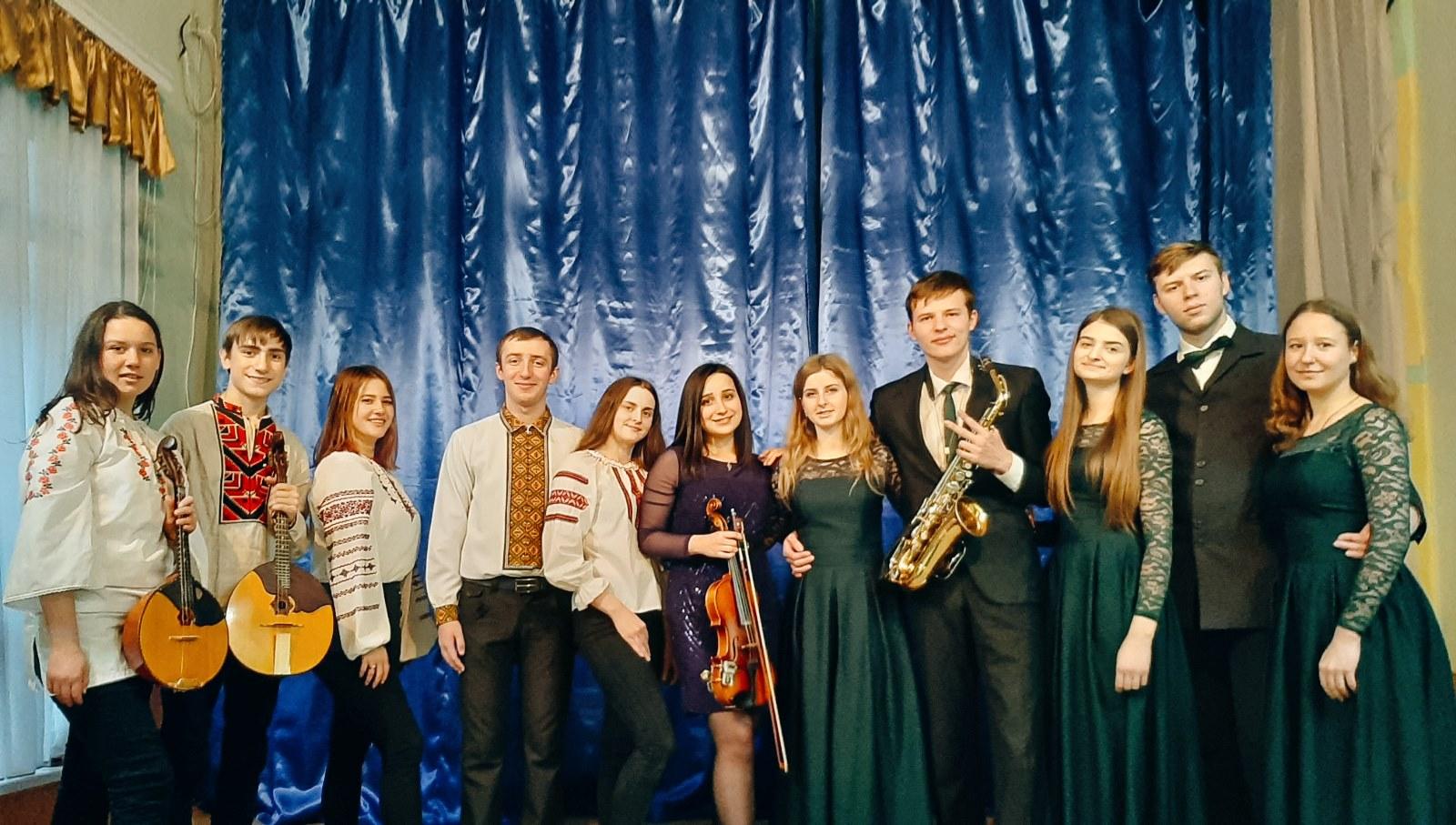 Студенти-музиканти взяли участь у виховному заході для вихованців Кам'янець-Подільського навчально-виховного комплексу для дітей з вадами зору