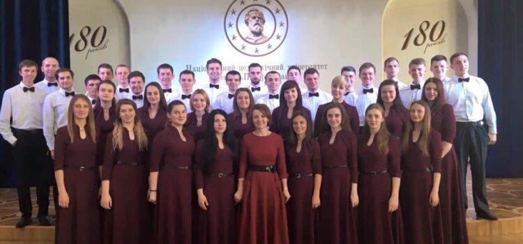 """Вітаємо студентську Народну хорову капелу """"МЕЛОС"""" !"""